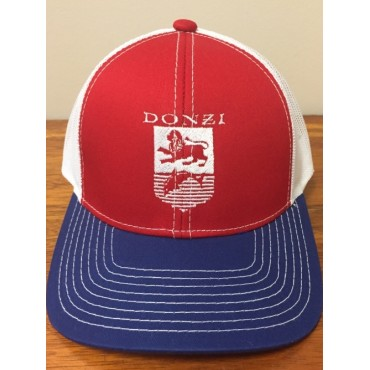 Donzi Red, White and Blue Adjustable Hat