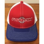 Fountain Red, White & Blue Adjustable Hat