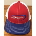 Baja Red White & Blue Adjustable Hat