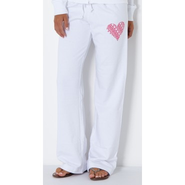 Fountain Bella Ladies Sweatpant White