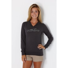Proline Jersey Applique Ladies Light Weight Hoodie