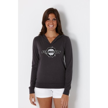 Fountain Jersey Applique Ladies Light Weight Hoodie