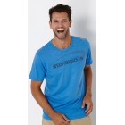 Baja Premium Dress T-Shirt - Blue Jay