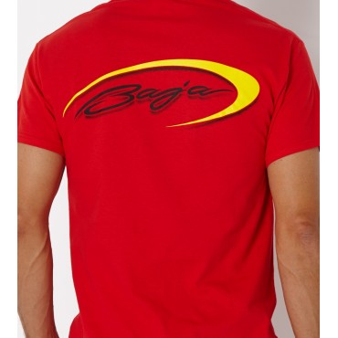 Baja  Logo T-Shirt Red