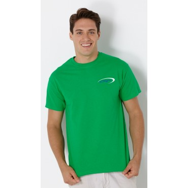 Baja Logo T-Shirt Irish Green w/ Navy Swoosh