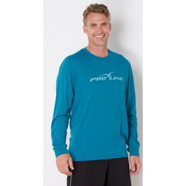 Proline Turquoise Long Sleeve Tee