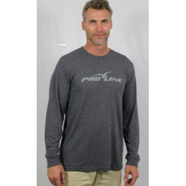Proline Grey Long Sleeve Tee