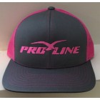 Proline Graphite/Neon Pink Adjustable Hat