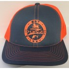 Donzi Graphite/Neon Orange Adjustable Hat