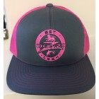 Donzi Graphite/Neon Pink Adjustable Hat