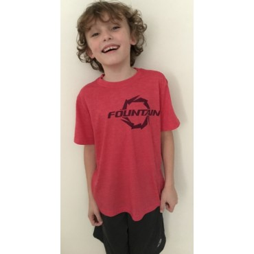 Fountain Red Kids T-Shirt