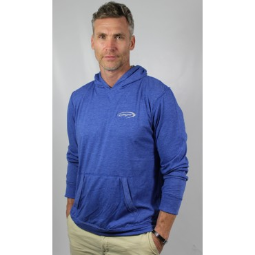 Baja Men's Royal Blue  Lightweight Hoodie