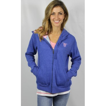 Donzi Royal Blue Zipup Hooded Sweatshirt