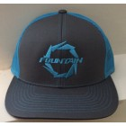 Fountain Graphite Grey/Neon Blue Adjustable Hat