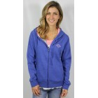 Fountain Royal Blue Zipup Hooded Sweatshirt