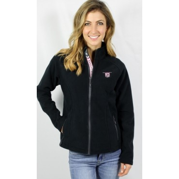 Donzi Ladies Charcoal Alpine Fleece