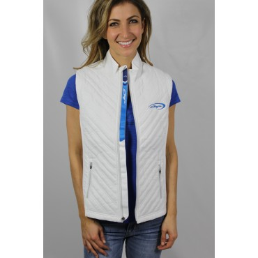 Baja Ladies White Vest