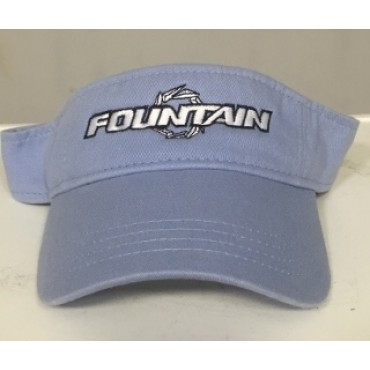 Fountain Baby Blue Visor