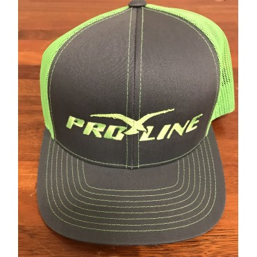 Proline Graphite/Neon Yellow  Adjustable Hat