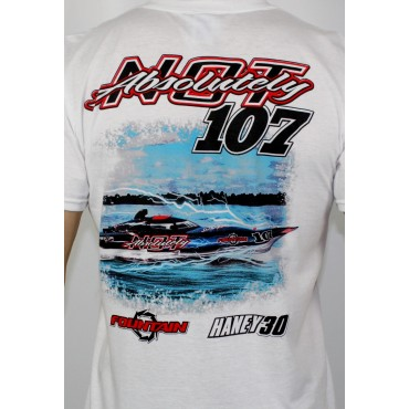 ABSOLUTELY NOT - Fountain Racing Tee