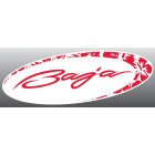 "Baja Hibiscus Sticker Decal (4.5"" x 12"" Various Colors)"
