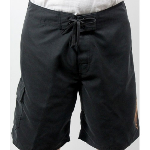 Men's Black Board Shorts