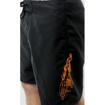 Baja Men's Black Board Shorts