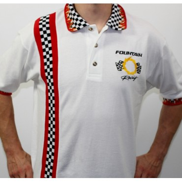Fountain Racing Collar Shirt