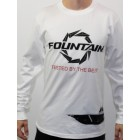 Fountain White Coast Guard Long Sleeve-T