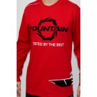 Fountain Red Coast Guard Long Sleeve-T