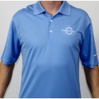 Fountain Nike DriFit Polo in Sky