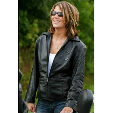 Fountain Ladies Leather Jacket