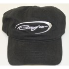 Baja Black Adjustable Brushed Twill  Hat