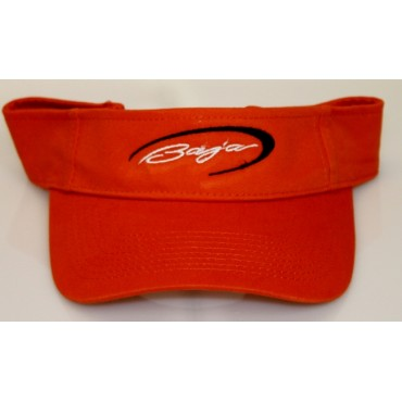 Baja Orange Visor