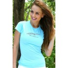 Baja Ladies Sky Blue T-Shirt