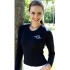 Women's Long Sleeve Black Tee