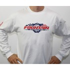 Fountain Long Sleeve Patriotic T-Shirt