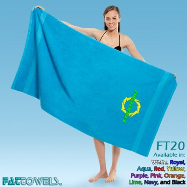 Fountain Beach Towel (FT20) - CUSTOM ORDER (APPROXIMATELY 10 BUSINESS TO SHIP). RUSH ORDERS NOT AVAILABLE. FINAL SALE - NO RETURNS OR EXCHANGES