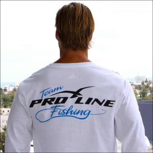Proline team fishing long sleeve shirt for Fishing team shirts