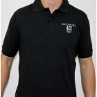 Donzi Black Cotton Pique Polo