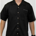 Donzi Black Bahama Cord Camp Shirt