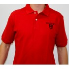 Donzi Red Cotton Pique Polo