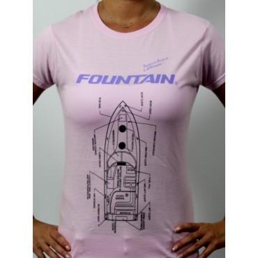 Fountain Lady Specs T-Shirt
