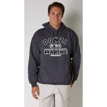 Donzi Charcoal Hooded Sweatshirt