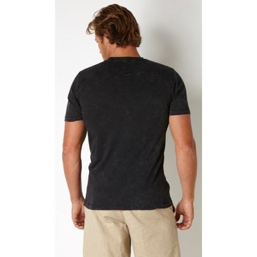 Donzi acid wash fashion fit t shirt for Custom acid wash t shirts