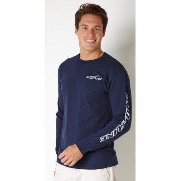 Proline Long Sleeve Navy T-Shirt ( unisex)