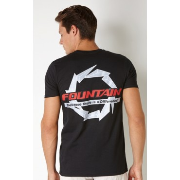 Fountain Black T-Shirt