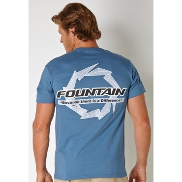 Fountain Denim T-Shirt