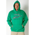 Team Baja Kelly Green Hooded Sweatshirt