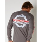Fountain Long Sleeve Graphite Tee